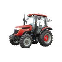 Red Heavy Duty Dump Truck Taishan Wheel Tractor EURO 2, 4*4, 90HP