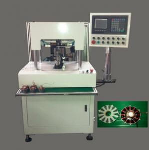 China Motorcycle Stator coil BLDC muti arms flyer winding machine  magnetic coil winding on sale