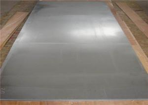 China Bright Sliver 304 Stainless Steel Plate , High Strength Stainless Steel Sheet Plate on sale
