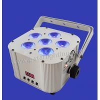 Battery/Wireless 6PCS 6IN1 RGBWA+UV LED PAR LIGHT/led par cans/ stage lighting/ wendding light/ indoor lights