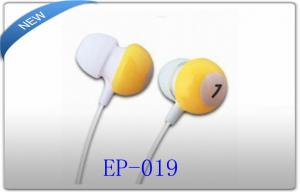 China Clear Natural Sound Super Bass Stereo 3.5mm In Ear Earphone For Iphone on sale