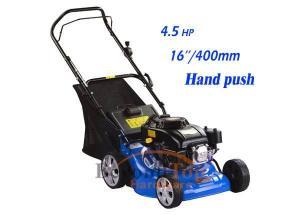 China Small hand push lawn mower with 400mm cutting width on sale