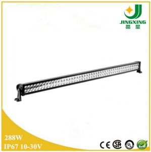 China CREE 288w 12v waterproof double row led light bar 4x4 led lamps made in China on sale