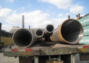 China Petrochemical Industry Hot Rolled Steel Pipe , Seamless Carbon Steel Pipe32'' 813mm OD on sale