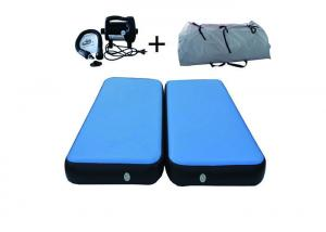 China Customized Inflatable Air Track Gym Mat , Wear - Resisting Air Tumble Track For Home on sale