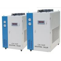 Air Cooled Packaged Chiller / Air Cooled Screw Chiller For Injection Moulding Machine