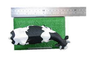 China Make Customized PVC Plastic Milk Cow Model Toy Animal Models , Non-toxic on sale