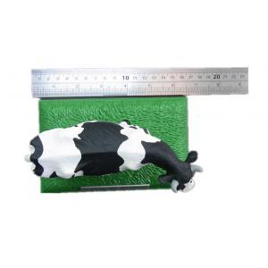 China Make Customized PVC Plastic Milk Cow Model Toy Animal Models , Non-toxic on sale