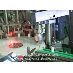 China 220V / 50HZ E Liquid Linear Filling Machine Self Adhesive Sticker Labeling Machine on sale
