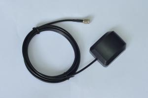 China Portable Vehicle Car GPS Antenna 50 ohm Impedance and SMA Male Connector on sale