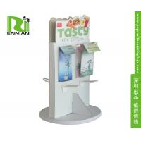 Spinning Shop Display Fittings Spinner Display Racks With Moveable base