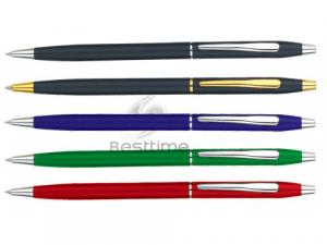 China Eco - friendly black, red, blue ink Twist Ball Pen / Ballpoint Pens Mt1002 on sale