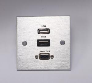 China USB HDMI VGA wall plate socket on sale