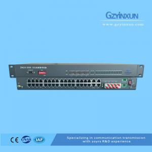 China 4E1(E1+E1 Backup and Cross-connect) + 32 any port + 4ETH PCM Multiplexer on sale