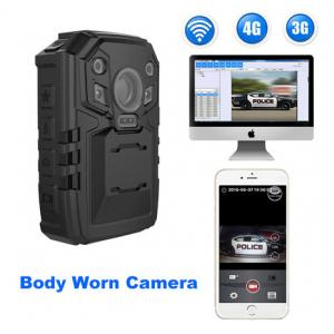 China PC Real - Time Police Body Worn Camera For Police Officers , Support 3G / 4G / WIFI supplier