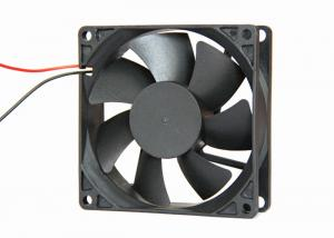 China Computer Case 80mm DC Axial Fans 24V 12V Ball Bearing With Speed Contral Signal on sale