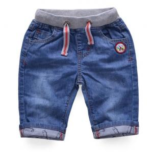 China Children's clothing bear boys baby jeans children trousers new kid jeans on sale