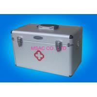 Home Health Care Aluminium First Aid Box MS-FSA-15 For Home / Outdoors