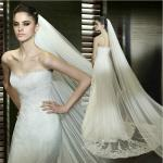 Sleeveless Halter mermaid Sweetheart Lace Wedding Dress with cathedral train