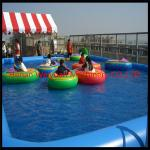 China 0.9mm PVC Inflatable water pool for balls and boats wholesale