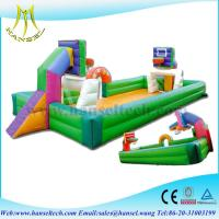 Hansel Indoor table Inflatable football soap court with bottom sheet for amusement park