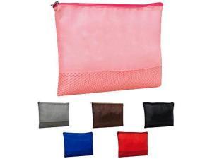 China Custom Mesh Vanity Bag, Cosmetic Cases Bags  on sale