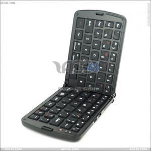 China 66 Keys Folding Mini Wireless Bluetooth Keyboard for for iPhone 4, iPad, Ipaq, PDA, Mac, OS, PS3, Smart Phones, PC, Computers P-Bluetoothkb004 on sale