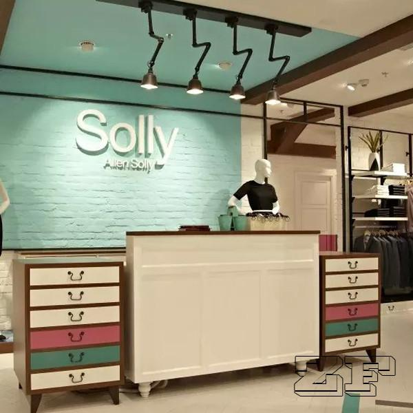 New Arrival Simple Style Clothing Shop Cash Counter Design For Sale Lady Clothing Display Furniture Manufacturer From China 105575096