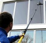 el carbono y la fibra de vidrio poste compuesto híbrido del 18FT waterfed el polo para la limpieza de ventana
