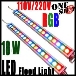 China DMX Controlled RGB LED wall washer light IP65 18W 24W 36W on sale