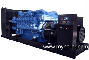 China MTU diesel generator sets on sale