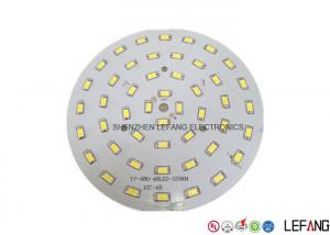 China FR4 Two Layers Round LED PCB Board For Traffic / Street Lighting HASL - LF on sale