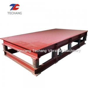 China Concrete Mold / Tile / Paving Vibrating Platform Shaking Table CE Passed on sale