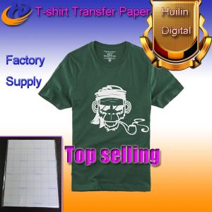 China dark color heat transfer paper t-shirt transfer paper a4 size on sale