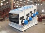 Mining two layer double frequency vibrating screening machine for crushing line