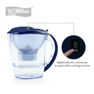 China Hydrogen Rich Portable Alkaline Water Pitcher With Activated Carbon Filter on sale