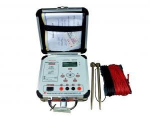 China Light Weight Low Resistance Digital Earth Resistance Tester With ISO Approve on sale