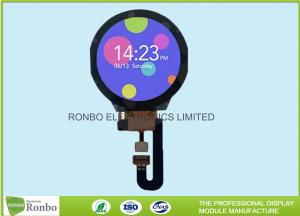 China Round Smart Watch Touch Screen LCD Display 1.3 Inch IPS 240x240 RoHS Compliant on sale