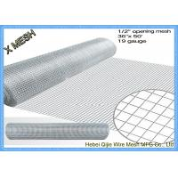 "1/2""X1/2"" Welded Wire Mesh Steel Prevent Snake Fencing Size Customized"