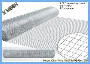 China 1/2X1/2 Welded Wire Mesh Steel Prevent Snake Fencing Size Customized on sale