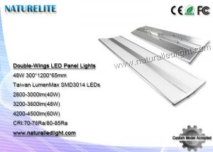 China 48W Double-wings LED panel lights 24 Smd Led Panel Cool White for 300*1200*65mm on sale