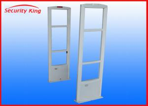 China Simple White Anti Theft Retail Store Security Equipment 0.9m - 1.8m Detecting Distance on sale