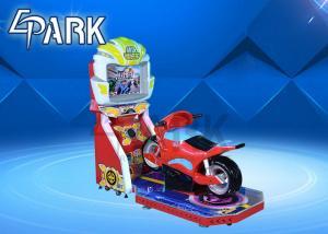 China Amusement indoor Playground Stunt Motorcycle racing car racing simulator game machine on sale