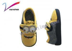 China Antiskid Child Yellow Cartoon Wrapped Kids Slipper Boots To Keep Warm at Home Floor on sale