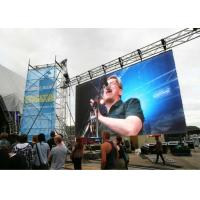 Lightweight Outdoor Stage Led Display HD 4.81mm Pixel Pitch With Vivid Display Effect