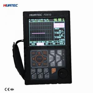 China NDT Ultrasonic Crack Detection Test with Big memory of 500 A graph HUATEC FD510 on sale