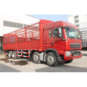 China L2000 Cab Heavy Cargo Trucks 8X4 Euro II Option 30 To 52 Tons Playload on sale