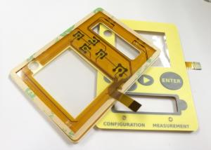China Tactile Key Flexible Membrane Touch Switches Waterproof Membrane Switch 100mA on sale