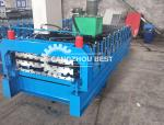 IBR Roof Making Machine / Roofing Sheet Roll Forming Machine Stable Performance