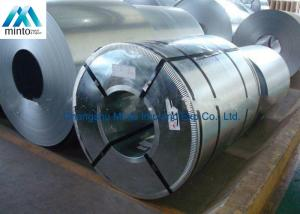 China Anti Finger ASTM Hot Dip Galvanized Steel Coil SGS ISO CIQ Certificate on sale
